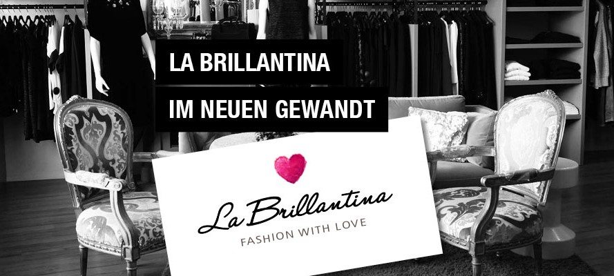 Neues Corporate Design La Brillantina