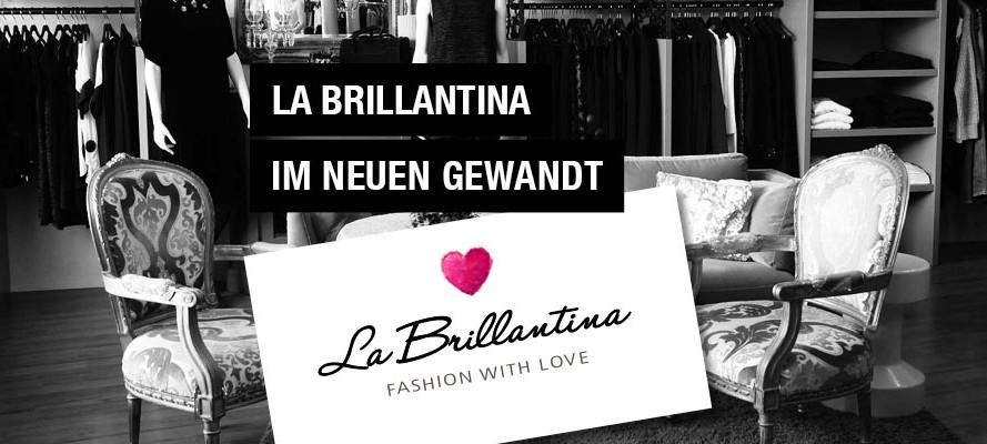 Neues Corporate Design La Brillantina