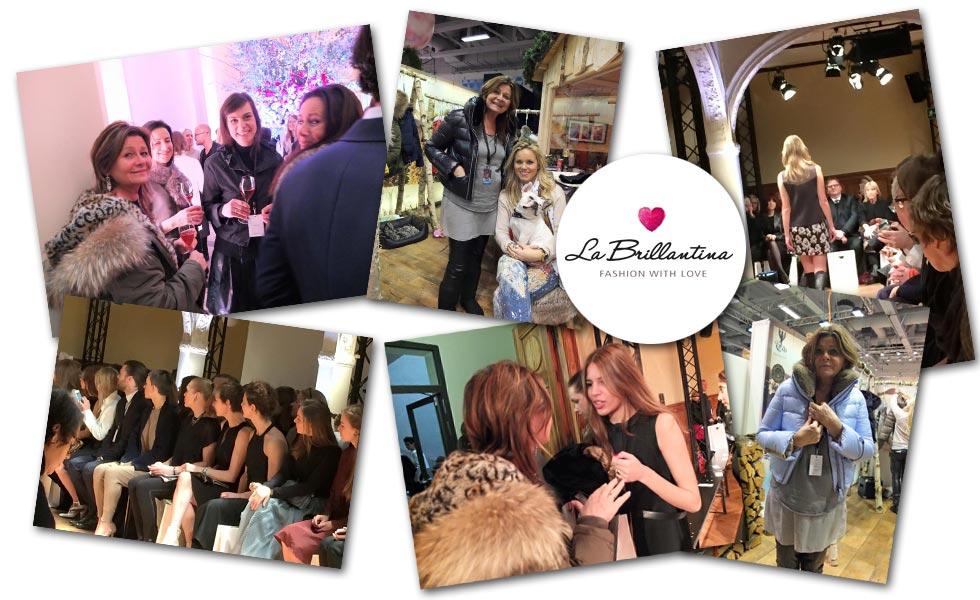 La Brillantina auf der Fashion Week 2015